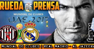 VÍDEO   Rueda de prensa de Zinedine Zidane previa al partido ante el Al Jazira