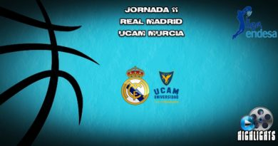 VÍDEO   Highlights   Real Madrid vs UCAM Murcia   Liga Endesa   Jornada 11