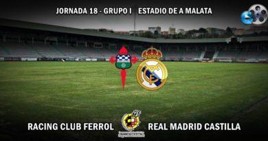 VÍDEO   Highlights   Racing Club Ferrol vs RM Castilla   2ª División B – Grupo I   Jornada 18