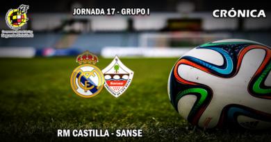 CRÓNICA   El Castilla merecio más: RM Castilla 0 – 0 Sanse