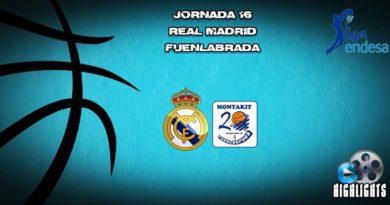 VÍDEO   Highlights   Real Madrid vs Fuenlabrada   Liga Endesa   Jornada 16
