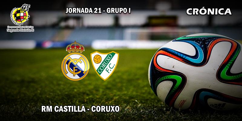 CRÓNICA   El Castilla consigue su primera victoria de 2018: RM Castilla 2 – 0 Coruxo