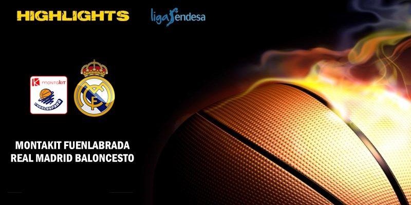 VÍDEO | Highlights | Montakit Fuenlabrada vs Real Madrid | Liga Endesa | J8