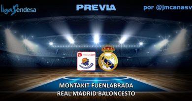 PREVIA | Montakit Fuenlabrada vs Real Madrid: Un derby complicado