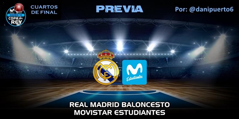 PREVIA | Real Madrid vs Movistar Estudiantes | Copa del Rey ...
