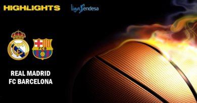 VÍDEO | Highlights | Real Madrid vs FC Barcelona | Liga Endesa | Jornada 24