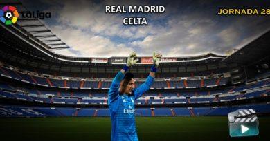 VÍDEO | Partido | Real Madrid vs Celta | LaLiga | Jornada 28